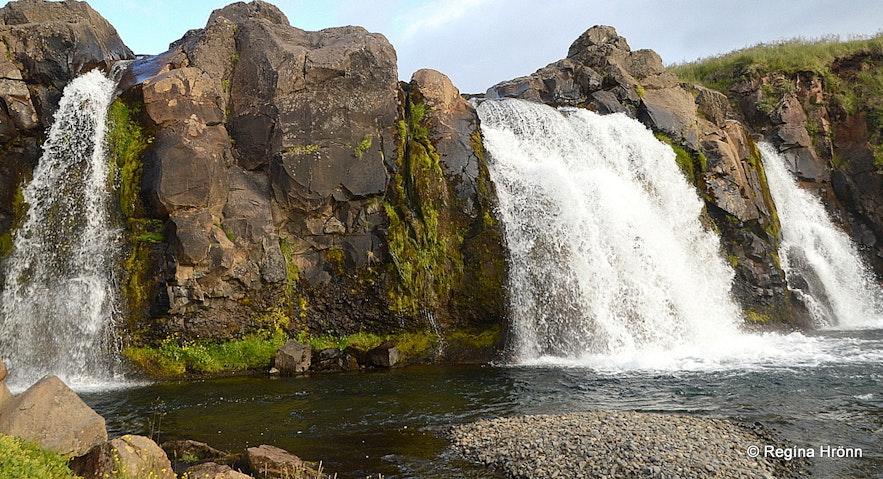 Englandsfoss waterfall