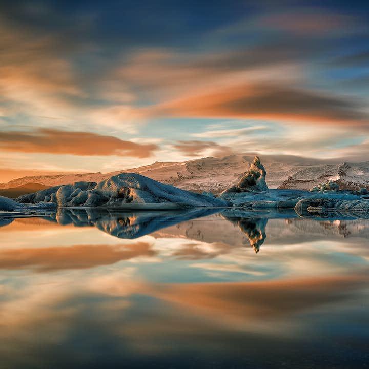 2-dniowa wycieczka w małej grupie z przewodnikiem po południowym wybrzeżu Islandii do laguny lodowcowej Jokulsarlon