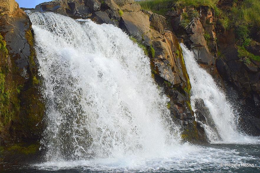 Englandsfoss waterfall West-Iceland