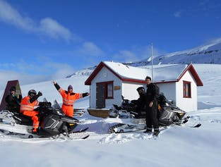 2-Hour North Iceland Snowmobile Tour