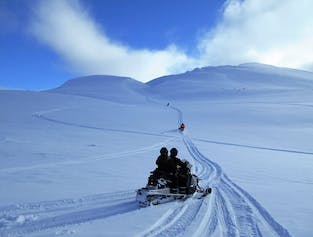 One Hour Snowmobile Adventure in North Iceland