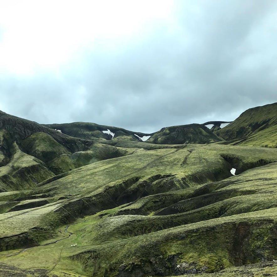 green mountain Mógilshöfði