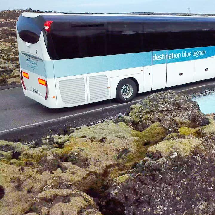 蓝湖单程大巴|蓝湖至冰岛凯夫拉维克国际机场