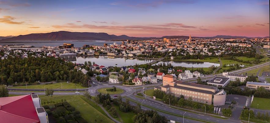 冰岛首都雷克雅未克十分值得游览
