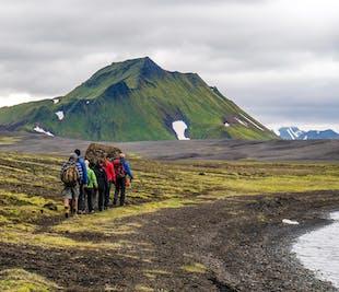 3-tägige Trekking-Tour | Landmannalaugar, Brennisteinsalda (Hütten-Übernachtung)