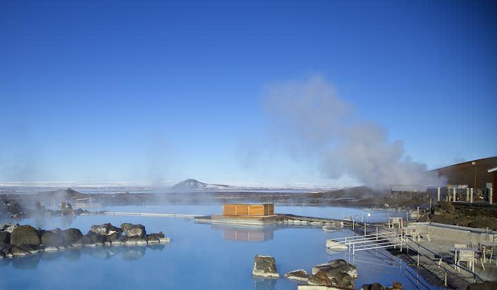 """冰岛北部米湖天然温泉门票 北部""""蓝湖"""""""
