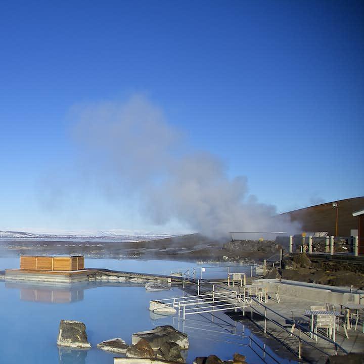 Entrada a los baños naturales de Mývatn   Norte de Islandia