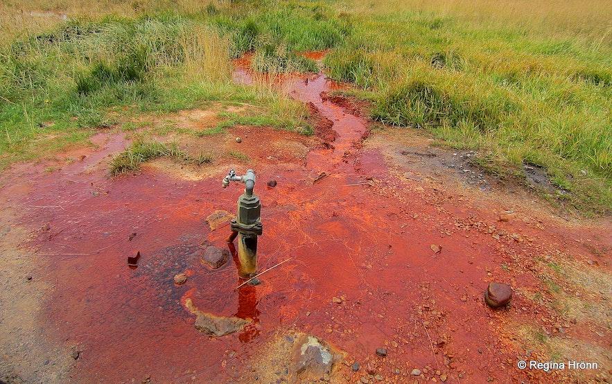Ölkelda mineral water in Snæfellsnes