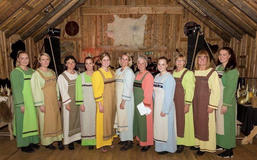 The staff at Ingólfsskáli