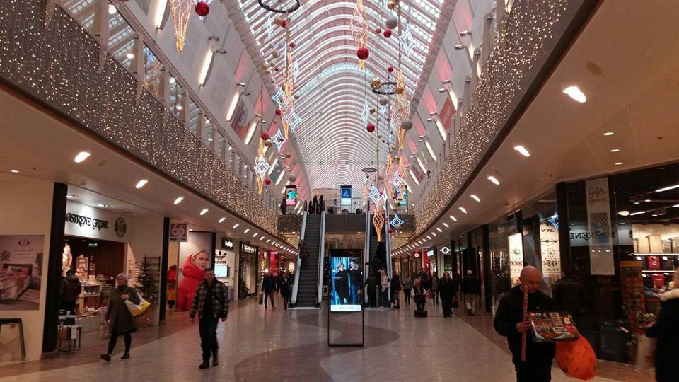 Smáralind shopping mall, in Kópavogur, Reykjavík Capital Area.