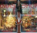 The little Christmas shop, located on Laugavegur road.