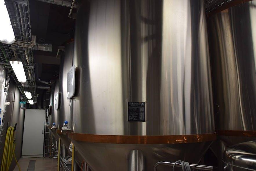ビール醸造用のタンクその2