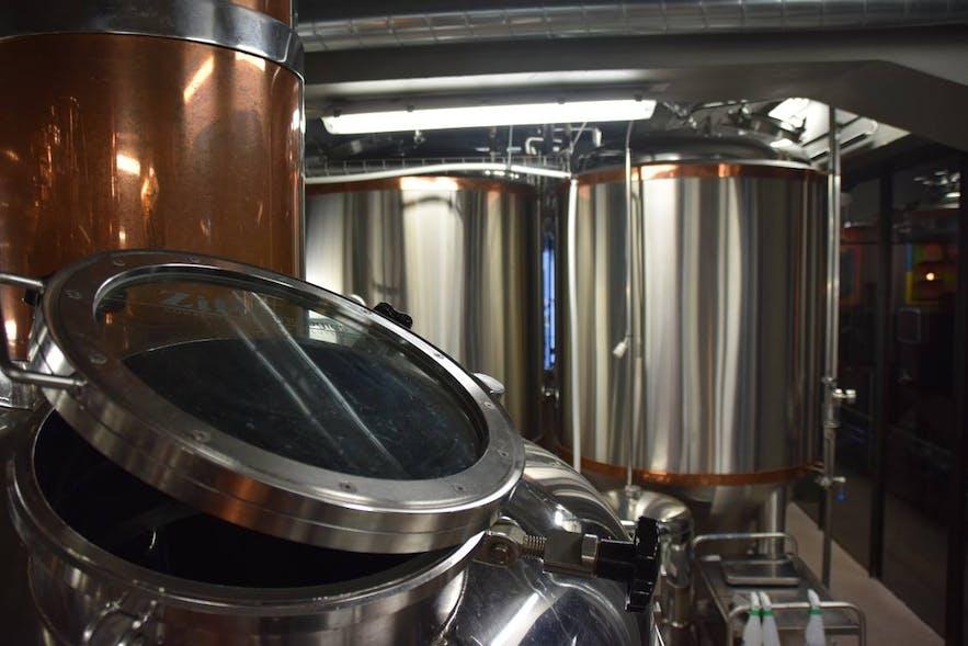 ビール醸造用のタンクその3