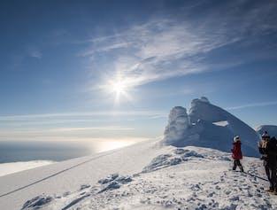 Snaefellsjokull Glacier ı Grand Summit Tour ı Snowcat & Skiing