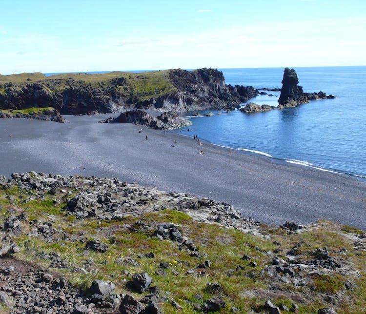 Djúpalónssandur beach in Snæfellsnes.