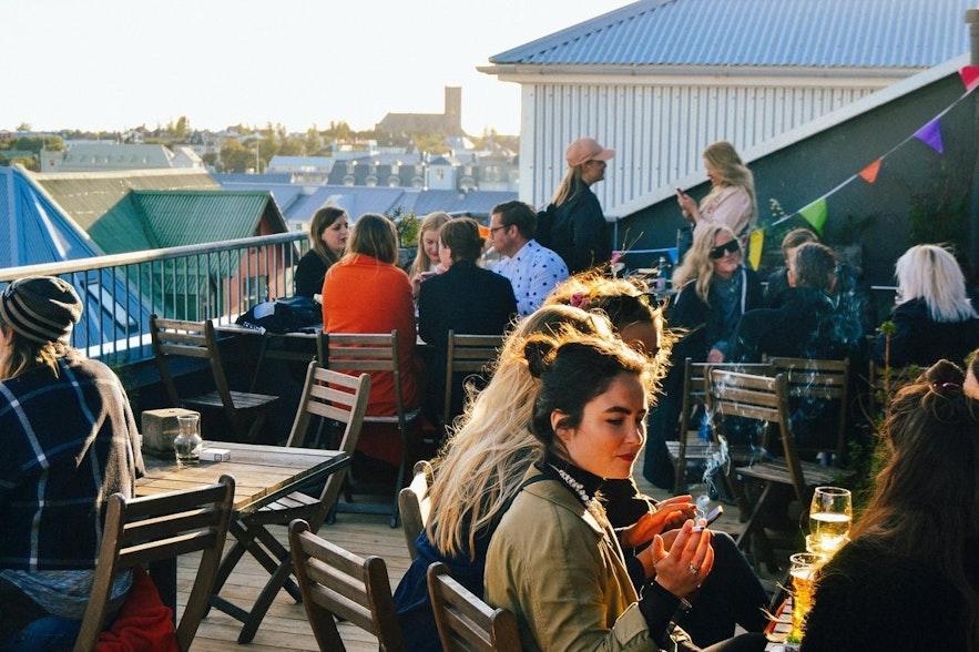 冰島首都雷克雅未克市中心Hostel Loft