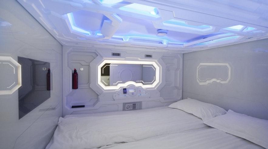 冰島Galaxy pod Hostel
