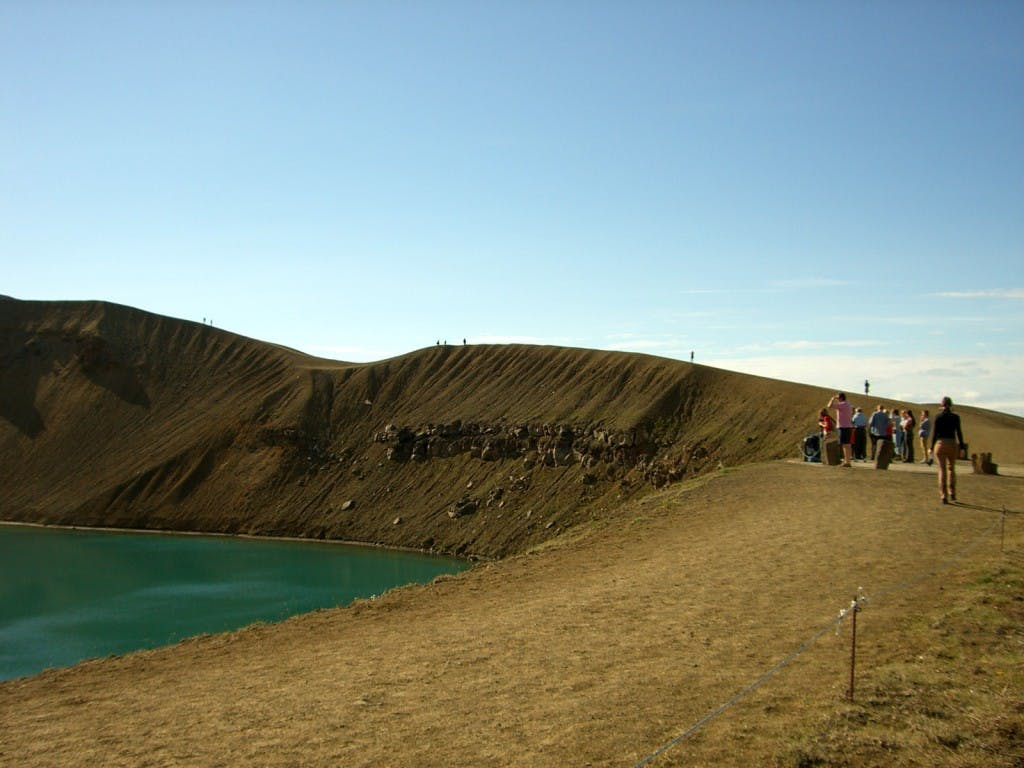 Lake Myvatn Sightseeing Tour with Flights from Reykjavik