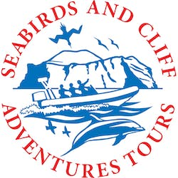 Seabirds and Cliff Adventures  logo