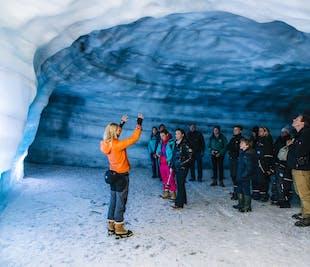 A l'intérieur d'un glacier | Tunnel de glace au Langjökull