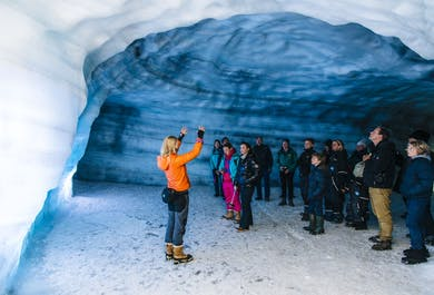 Dentro del glaciar | Tour con salida desde Langjökull
