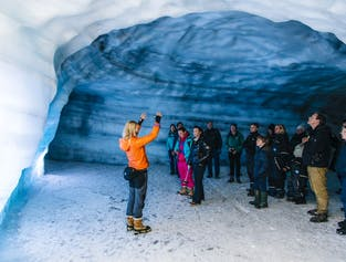 Into the Glacier Tour - Starting from Langjökull width=