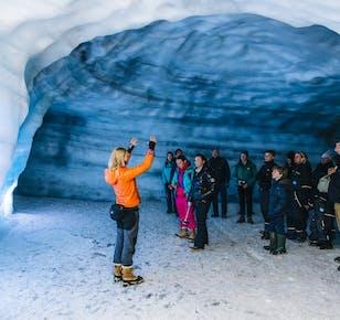 Eistunnel im Langjökull-Gletscher | ab Husafell