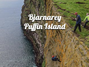 Adventure Exploration | Bjarnarey Puffin Island