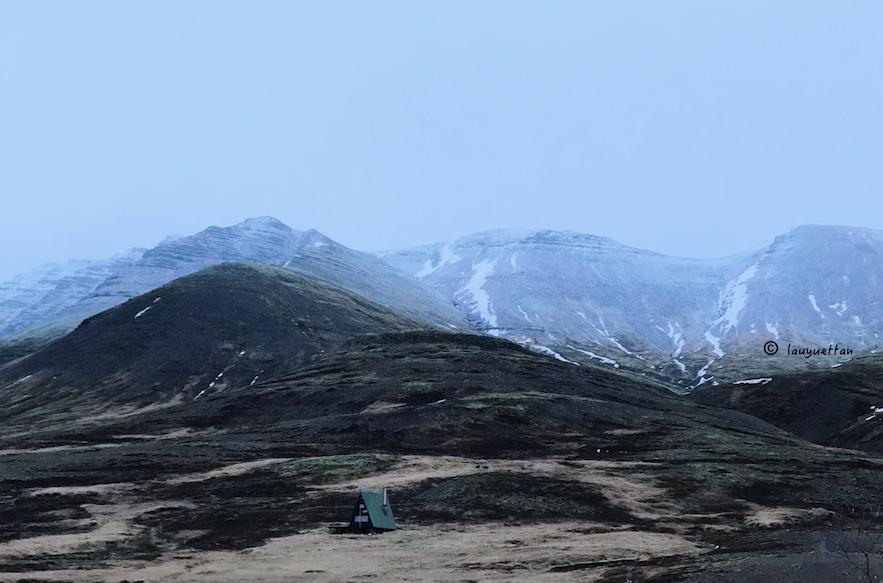 無名的冰島景色