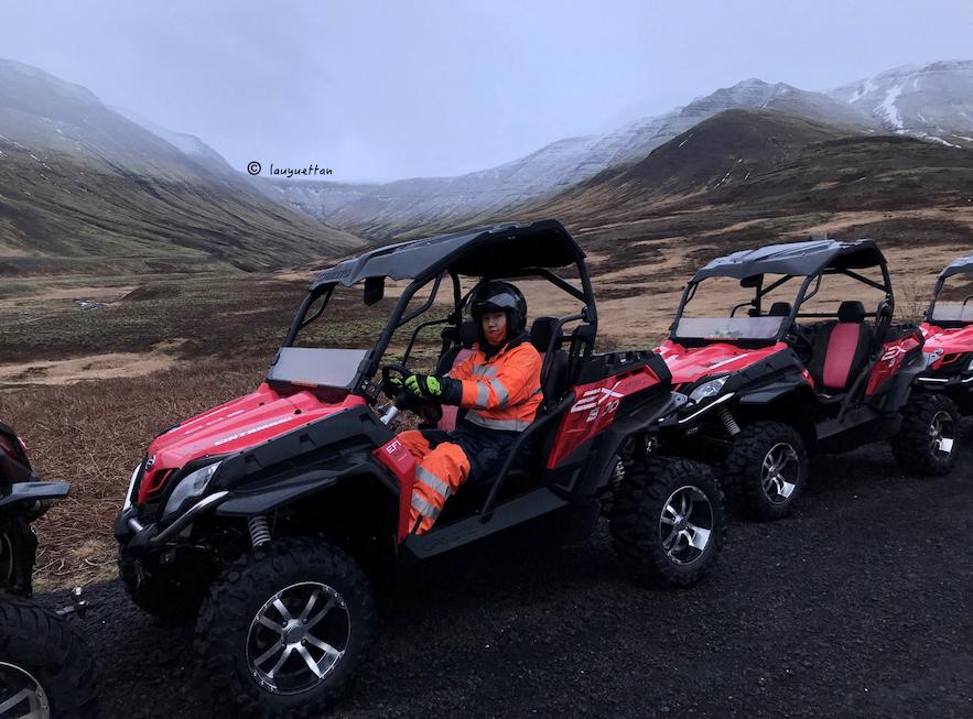 冰島雷克雅維克近郊Buggy