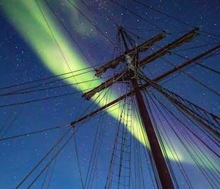 Wintermagie auf einem Segelboot | ab Reykjavik