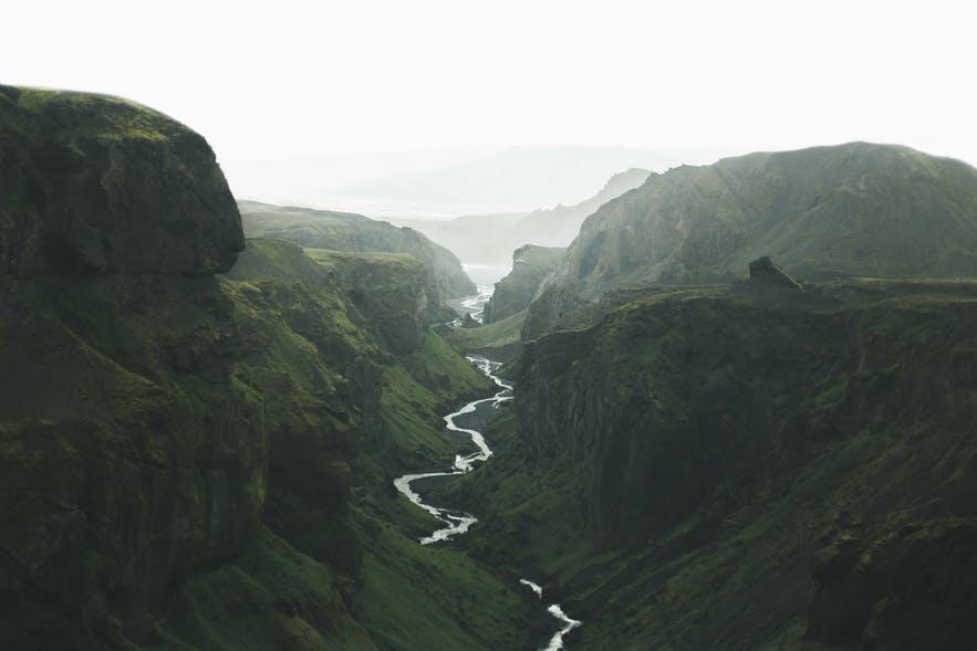 冰島內陸高地Laugavegur6日徒步健行路線