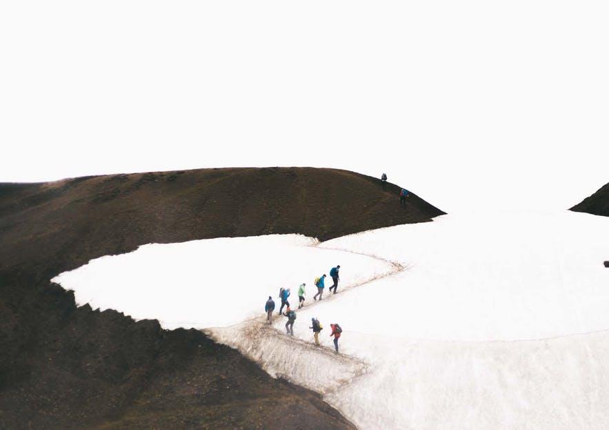 冰島中央高地遠足健行