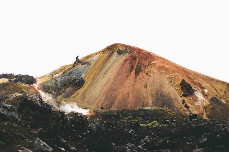 冰島中央高地彩色火山Landmannalaugar