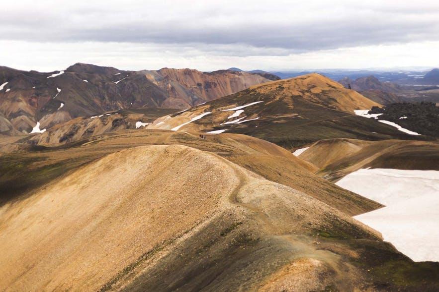 冰島內陸高地Laugavegur徒步路線
