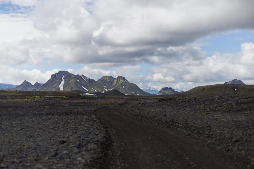 冰島中央高地Emstrur