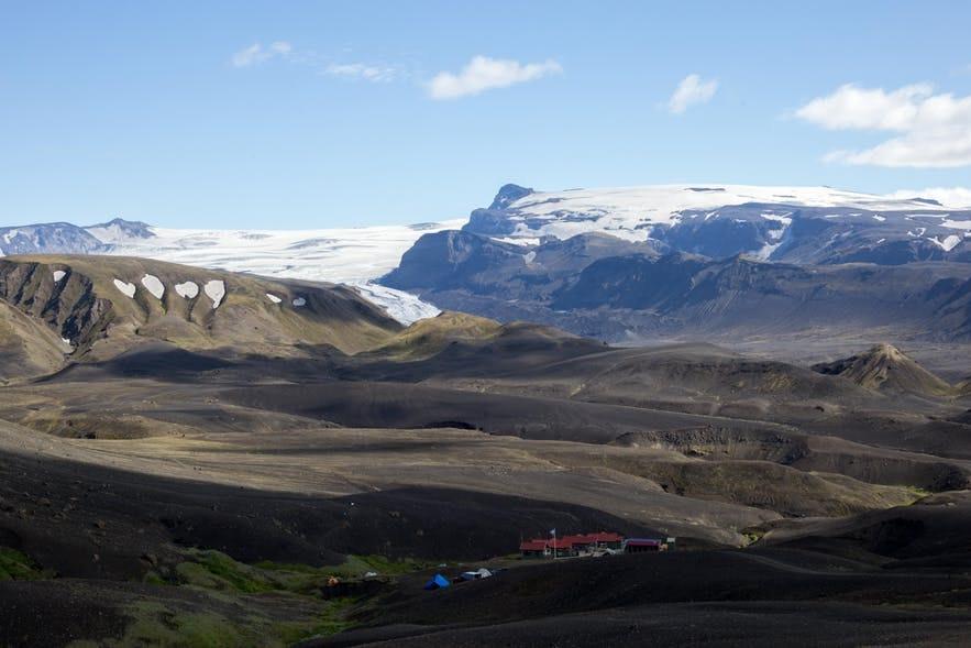 冰島中央高地索斯莫克