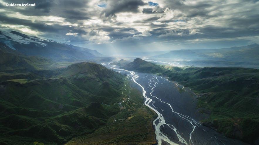 冰島內陸高地索斯莫克
