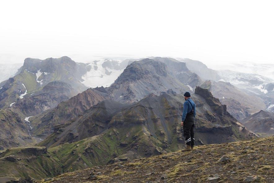 冰島Fimmvörðuháls 遠足路線