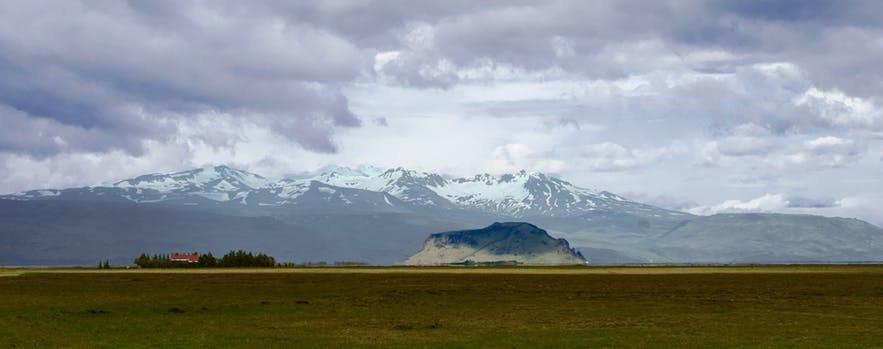 冰島南岸埃亞菲亞德拉火山