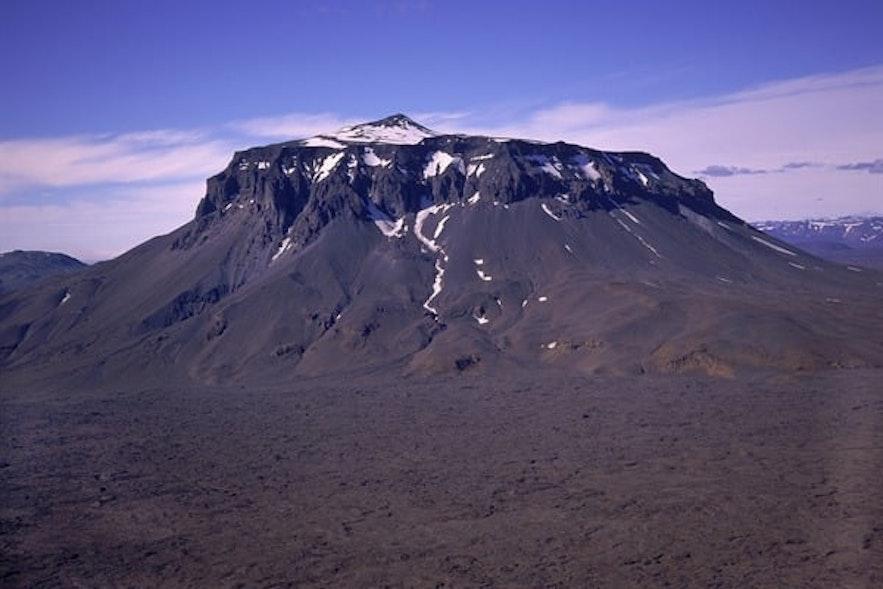 冰島北部Herduberid山