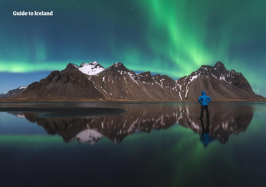 冰島天空之鏡Vestrahorn