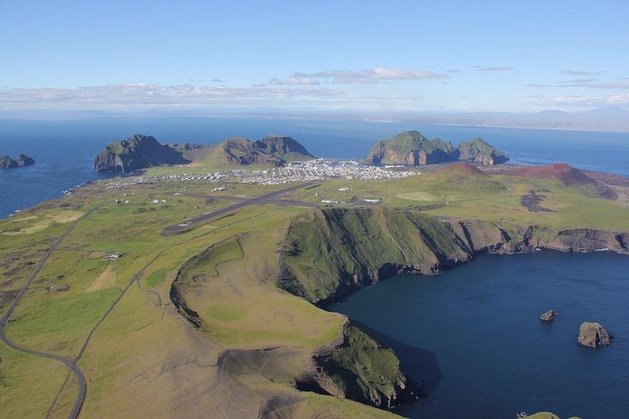 冰島西人島Blatindur山