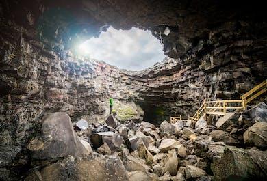 Eksplorowanie jaskini Vidgelmir | Wycieczka dla całej rodziny
