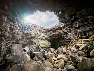 The Cave Explorer | Family Friendly Tour of Vidgelmir Lava Cave