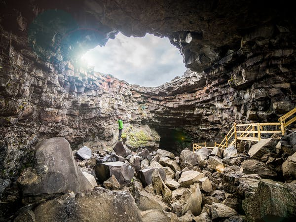 The Cave - Víðgelmir, one of the largest lava caves in the world