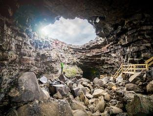 Víðgelmir | einfache Höhlen-Erkundung
