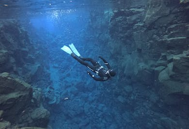 Silfra Fissure Apnea Freedive | Dive Between the Continents