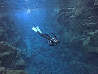 Silfra Fissure Apnea Freedive | Dive Between the Continents