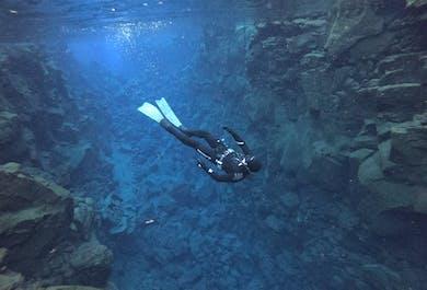 Silfra Fissure Apnea Freedive   Dive Between the Continents